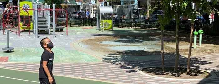 Mulbery Street Park is one of New York.