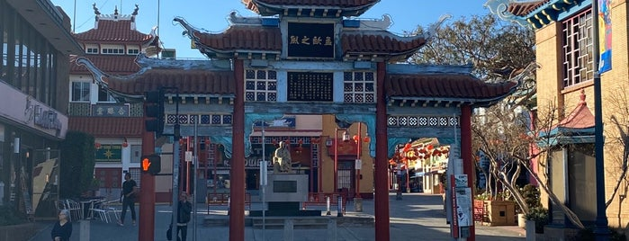 Chinatown is one of Rough Guide to Los Angeles.