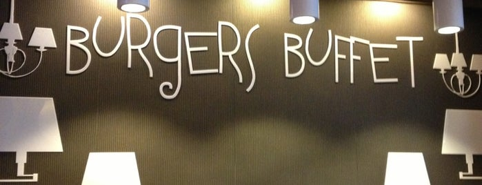 Burgers Buffet is one of Lviv💗.