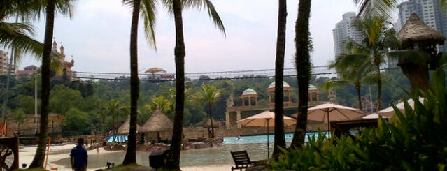 Sunway Lagoon Surf Beach is one of Malaysia.