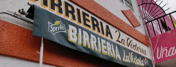 Birrieria La Victoria is one of Guadalajara.