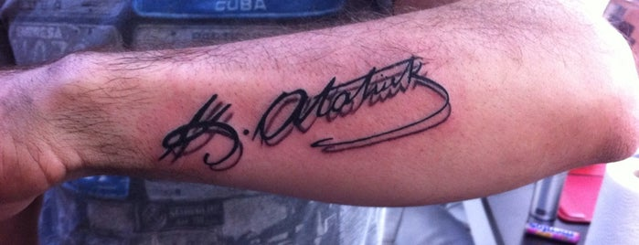 Tattoo Brothers is one of Kaan : понравившиеся места.