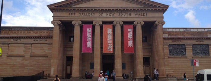 Art Gallery of NSW is one of SYD.