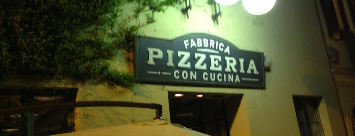 Fabbrica is one of Milano food.