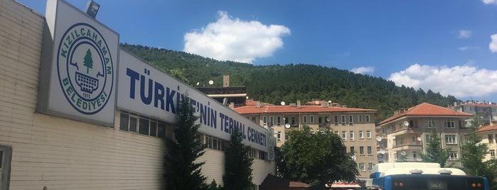 Kızılcahamam Çarşı is one of Tempat yang Disimpan Hasan.