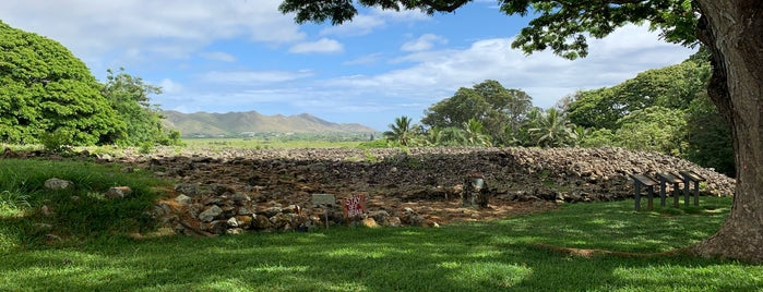 Ulupo Heiau State Historical Monument is one of Oahu.