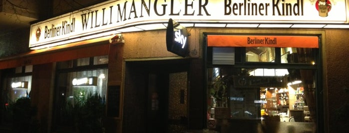 Willi Mangler is one of U-Bahn Bar Map.