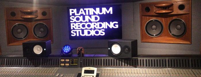 Platinum Sound Studios is one of Lugares guardados de Fly Lady Dii.