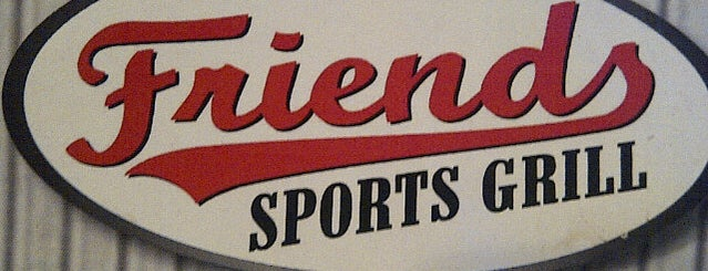 Friends Sports Bar & Grill is one of Best Bars in Georgia to watch NFL SUNDAY TICKET™.