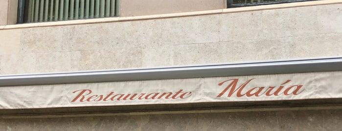 Restaurante Maria is one of Valladolid, comer, cenar y tapear..