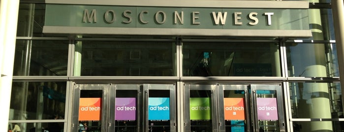 Moscone West is one of Experienced Places (Non-food).