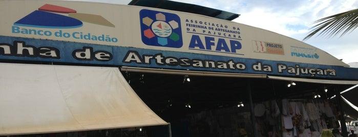 Feirinha de Artesanato da Pajuçara is one of Orte, die MZ✔︎♡︎ gefallen.