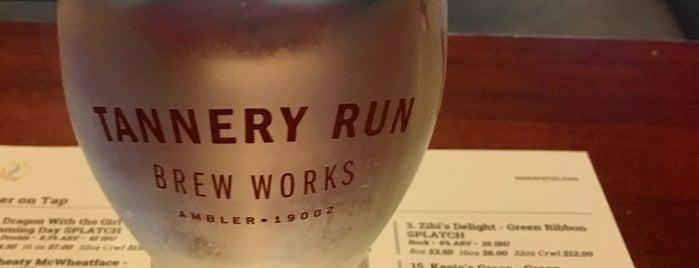 Tannery Run Brew Works is one of Posti salvati di Rachel.