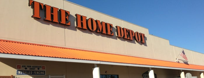 The Home Depot is one of Gina's Liked Places.