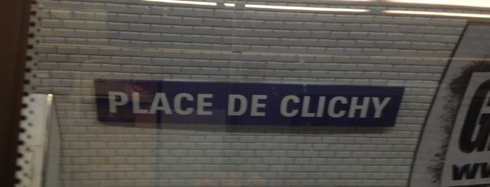 Métro Place de Clichy [2,13] is one of Went before.