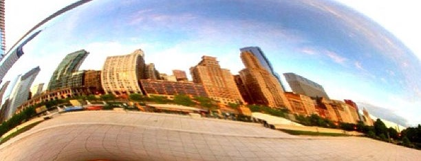 Millennium Park is one of Chi Town.