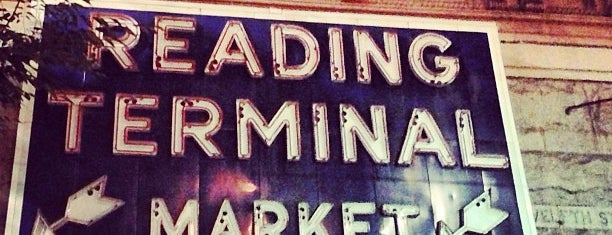 Reading Terminal Market is one of Philly Phoodies.