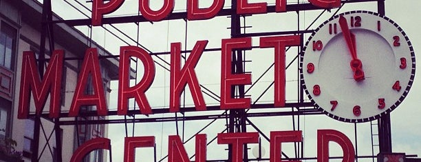 Pike Place Market is one of Seattle; Vancouver & Whistler.