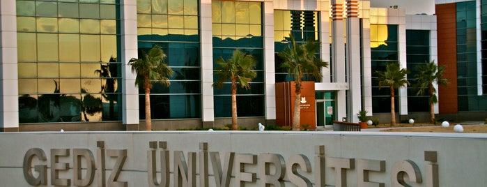 Gediz Üniversitesi is one of like.