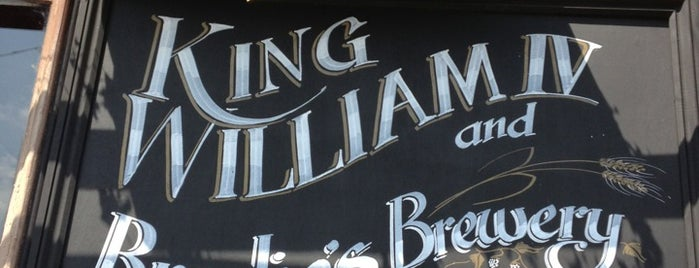 King William IV is one of London's Best for Beer.