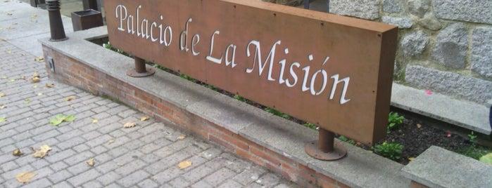 Palacio de la Misión is one of Comer en Madrid.