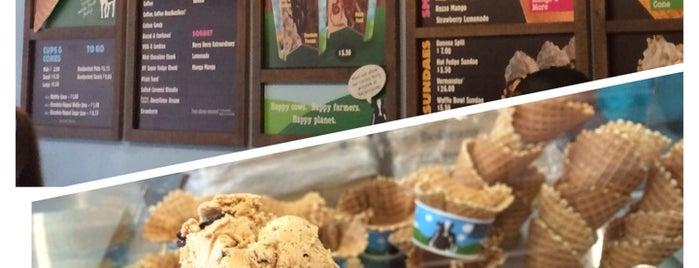 Ben & Jerry's is one of Newport, Ri.