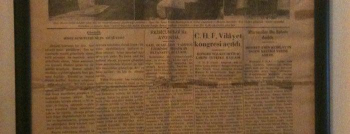 Atatürk Etnografya Müzesi is one of Denizli & Aydın & Burdur & Isparta & Uşak & Afyon.