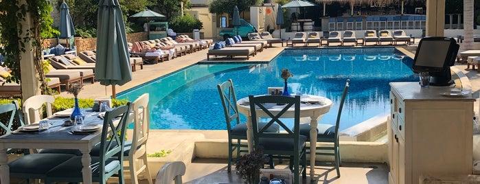 Mandaloun beach club is one of Beirut ❤️.