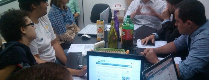 AJE — Associação Dos Jovens Empreendedores e Empresários de Goiás is one of Melhor atendimento.