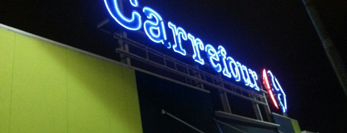 Carrefour is one of Pontos Turisticos Essenciais Goiania.