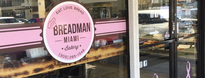 Breadman Bakery is one of Moufgasm 305 West.
