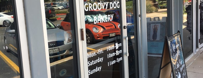 Groovy Dog Bakery is one of Austin.