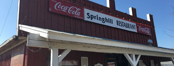 Springhill Restaurant is one of Round Rock.