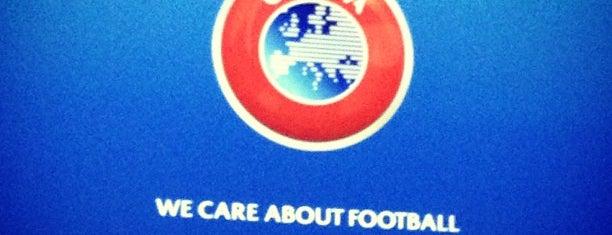 UEFA is one of Еврокубки.