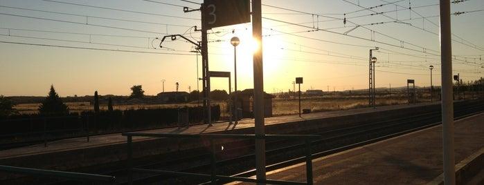 Estación de Almagro is one of Ciudad-Real – Alicante.