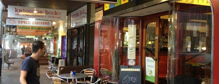 Cafe Zuppa is one of Locais salvos de Soraya.