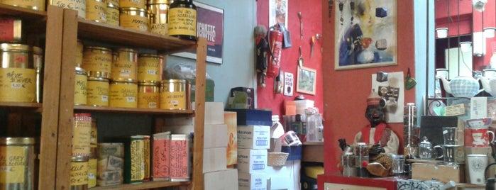 La Caféière is one of Shops @ Liège.