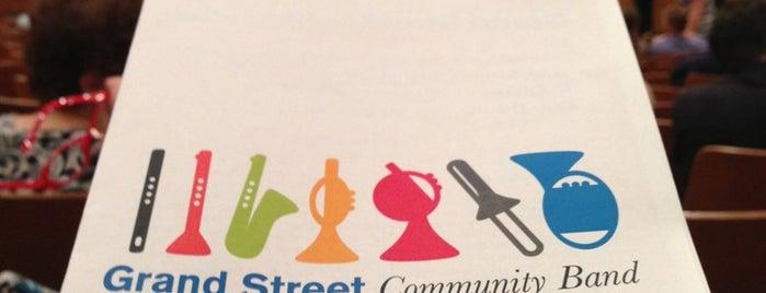 Grand Street Community Band is one of สถานที่ที่ Allison ถูกใจ.