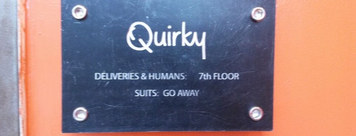 Quirky is one of Silicon Alley, NYC.