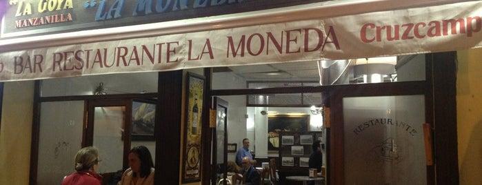 La Moneda is one of Las mejores tapas de Sevilla.