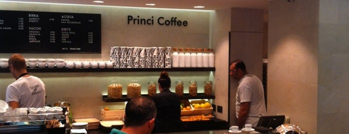 Princi Coffee is one of Italy 🇮🇹.