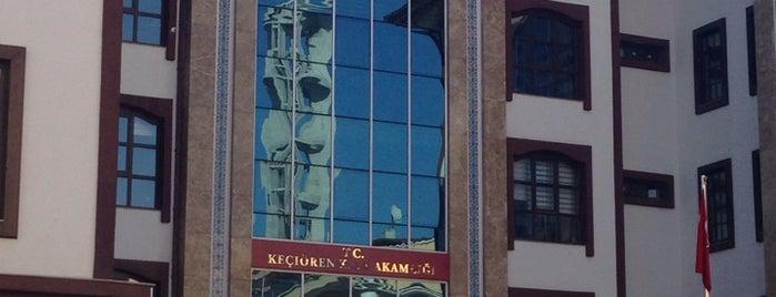 Keçiören Kaymakamlığı is one of Tempat yang Disukai Burak.