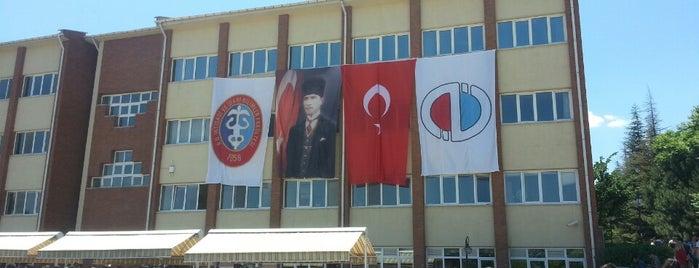 İktisadi ve İdari Bilimler Fakültesi is one of my favorites.