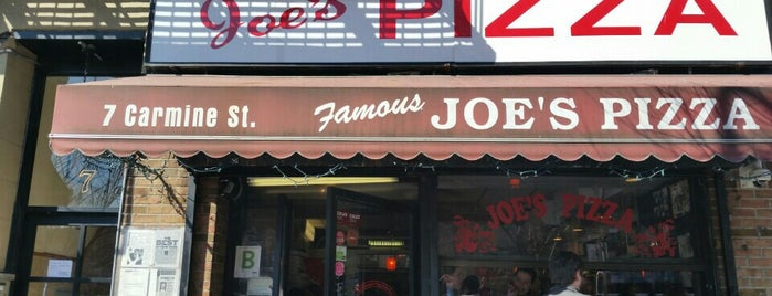 Joe's Pizza is one of 🇺🇸 New York Eating.
