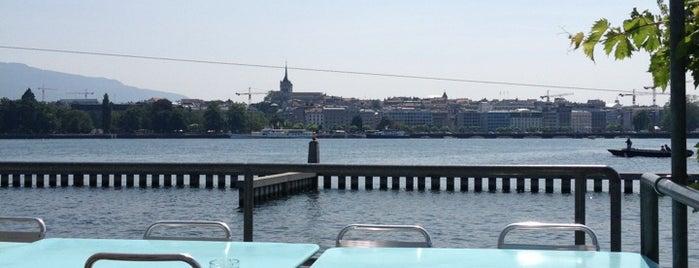 Buvette des Bains des Pâquis is one of Foodie places in Geneva area.