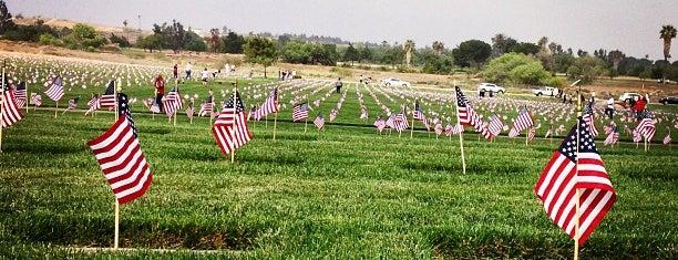 Riverside National Cemetery is one of Orte, die Mark gefallen.