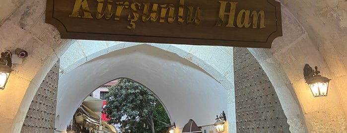 Tarihi Kurşunlu Han is one of Tempat yang Disukai Ali.