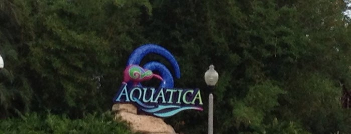 Aquatica, SeaWorld's Waterpark Orlando is one of Tempat yang Disimpan Alê.