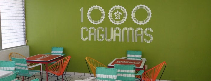 1000 Caguamas is one of Locais curtidos por Fernanda.