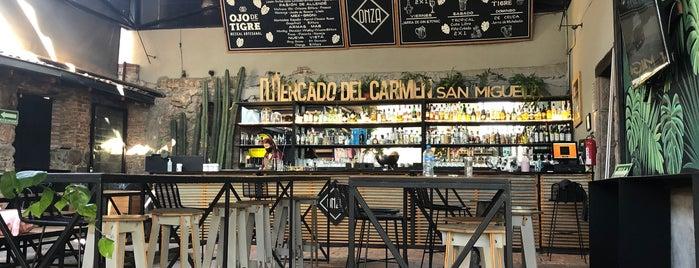 Mercado Del Carmen San Miguel is one of San Miguel.